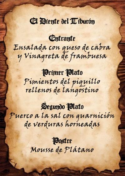 MENÚ PIRATA LA COCINA TALLER e1519736617774 - Menú caribeño