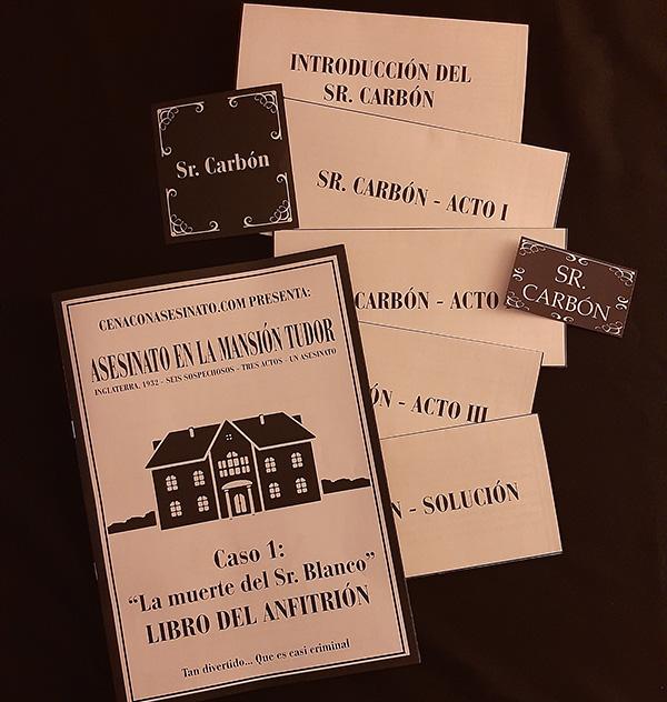 Instrucciones para el anfitrión, guiones, tarjetas de votación...